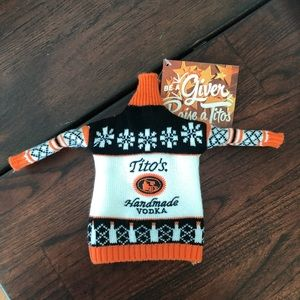 Tito's Bottle Sweater